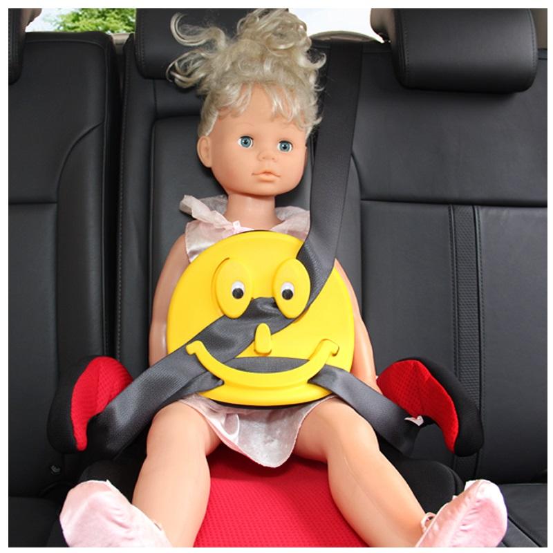 """Адаптер ремня безопасности для детей """"Человечек"""" Taizhou Ganen GE-W (желтый)"""