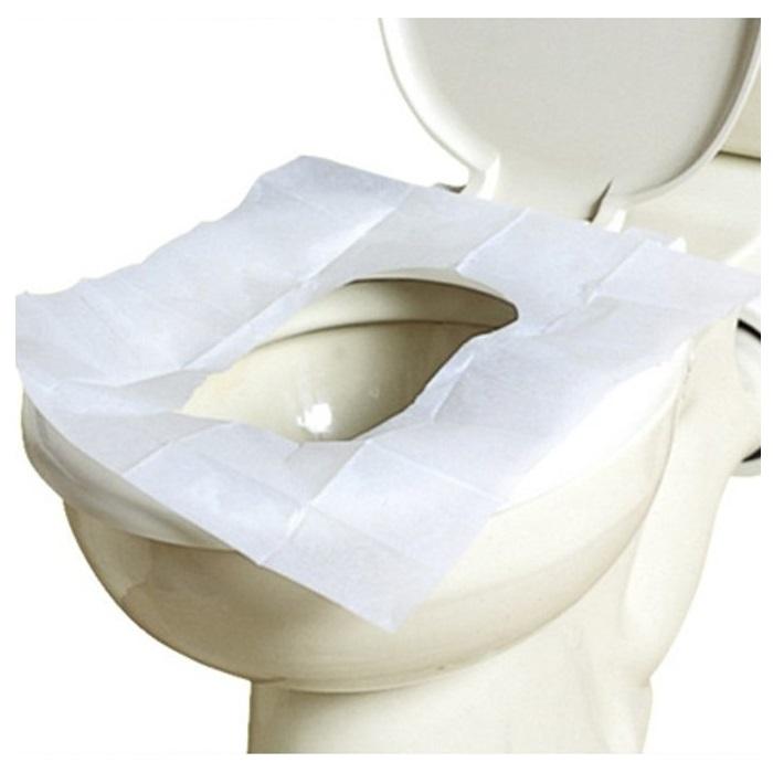 Гигиенические одноразовые накладки на унитаз EASETRIP L70420 (36 * 41.5 см) - 10 шт. в комплекте