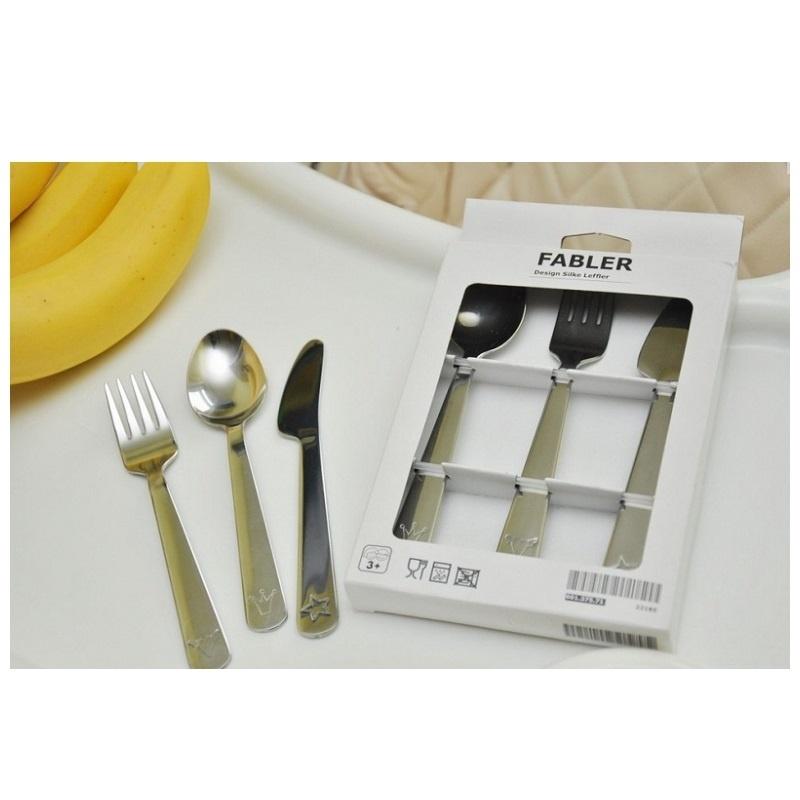 Набор столовых приборов IKEA FABLER 601.375.71 (3 предм.)