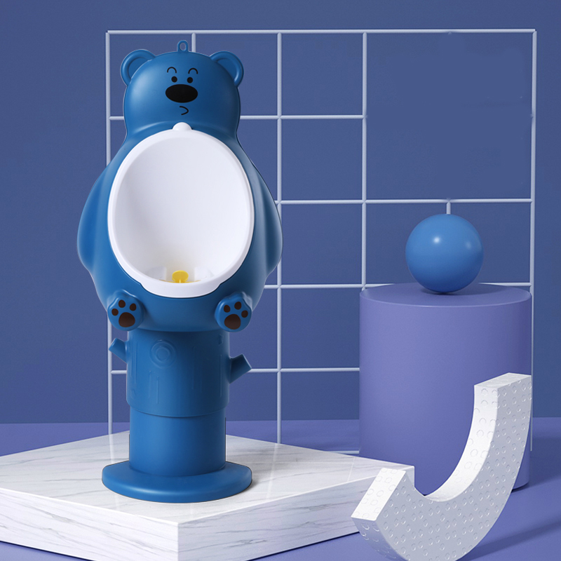 Писсуар мишка Teddy большой Little bean BTM-2 (синий)