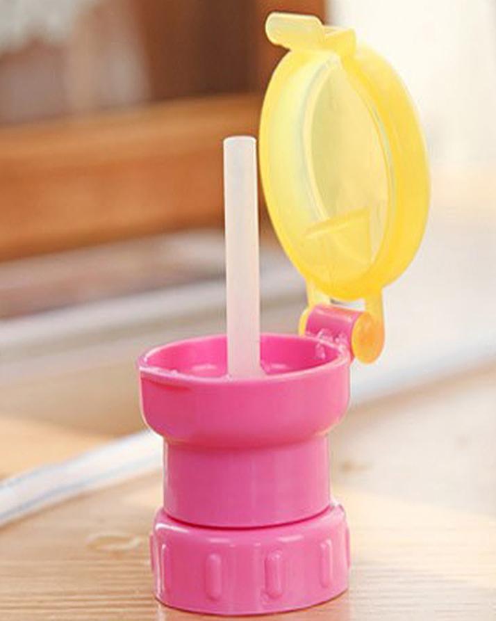 Универсальная трубочка для бутылки Byfa Bips1 (розовый)