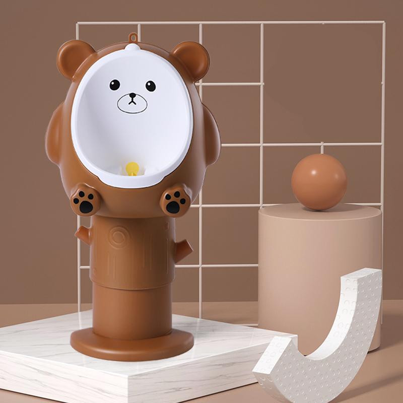 Писсуар мишка Teddy малый Little bean BTL-1 (коричневый)
