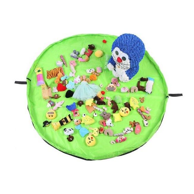 Портативный органайзер для игрушек Parklon Playmat YG88 (45 см) зеленый