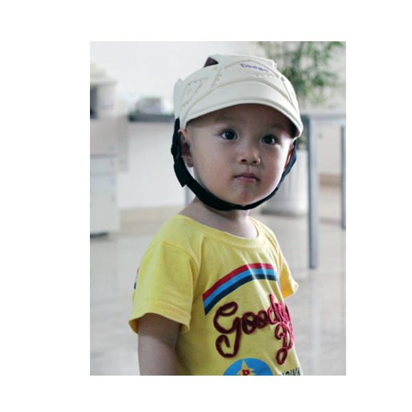 Детский защитный шлем от ударов Osage 1 (бежевый)