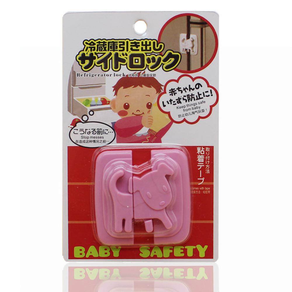 Замок на холодильник Baby Safety LST-03 (розовый)