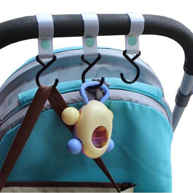 Вспомогательный крючок на коляску Little Bean URT-149 (черный)