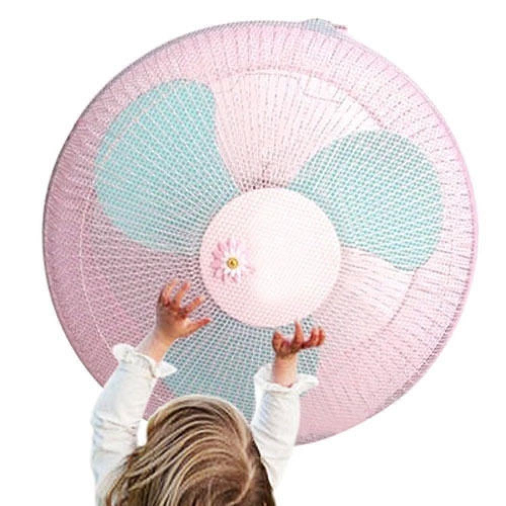 Защитный чехол-сетка на вентилятор Child safety N4-ROSE (розовый)
