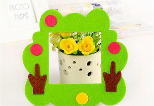 Декоративная накладка на выключатель Chilian RD900-3 (зеленая фигурная рамка)