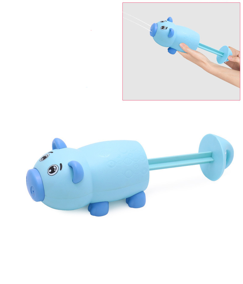Водяной пистолет в виде Свинки Anbebe GX014-PB (голубой)