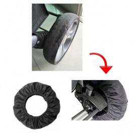 Чехол на колеса колясок - защита от грязи ChizeQuar JLT271 (18-25 см и 12-16 см) - 4 шт. в комплекте