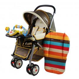 Защитное покрытие в коляску Baby Stroller N-D5 (полосатое)