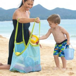 Сумка для игрушек на пляже