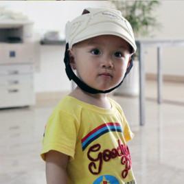 Детский защитный шлем от ударов Osage 120 (бежевый)