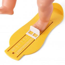 Линейка-стелька для измерения ступней малыша UL082-Y Mirti (желтая)