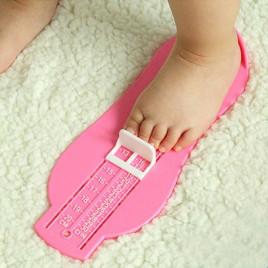 Линейка-стелька для измерения ступней малыша UL082-P Mirti (розовая)