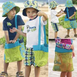 Сумка детская пляжная для игрушек LOGO YVB-12