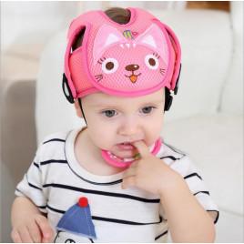 Защитный шлем JJ OVCE Bonnet PC-1 (розовый котенок)