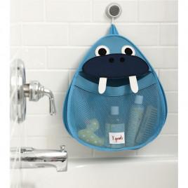 Органайзер для ванной 3 Sprouts Морж URT-313 (голубой)