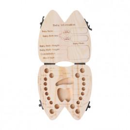 Сувенирная коробка для сохранения молочных зубов Argo Baby Tooth Box 2SS400254