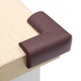 Мягкая защита на угол стола Baby Safety AY001 (коричневый) 1 шт