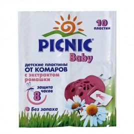 Пластины от комаров PICNIC Baby 000010489 (10 шт.)