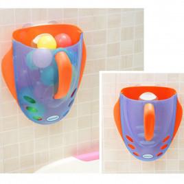 Органайзер для игрушек Babyhood BH-706OB (оранжево-голубой)