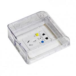 Защитная коробка на выключатель AOKOLa JH-06T (прозрачная)