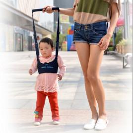 Детские вожжи-ходунки Walking Assistant Moby Baby MBWA-901 (синий)