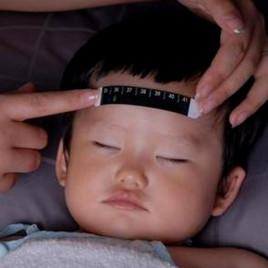 Термометр налобный BabyMatee 1 (черный)