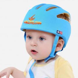 Детский защитный шлем Song Zhi Long 100-20B (голубой)