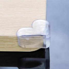 Накладка в виде сердца на острые углы OSAGE QH357SP (прозрачная)