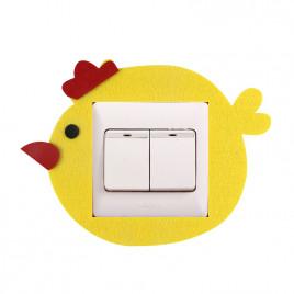 Декоративная накладка на выключатель Chilian RD900-YC (желтый птенец)