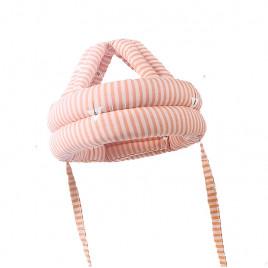 Защитный шлем Boilezi AP018 (розовый в полоску)