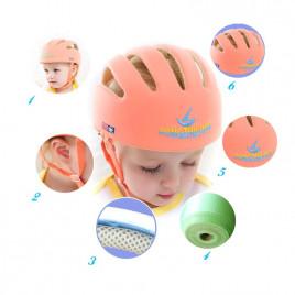 Детский защитный шлем Song Zhi Long 100-20P (розовый)