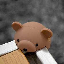 Защита на острые углы Звери Mambobaby HD003-05 (медведь коричневый) - 2 шт.