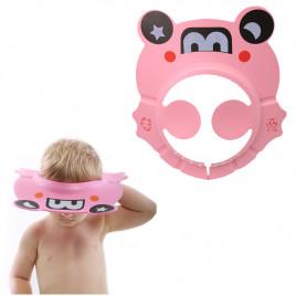 Защитный детский козырек для мытья головы Roxy Kids RKG-401 (розовый)