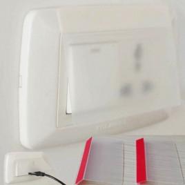 Защитный экран на розетку Baby Safety TRE-889 (матовый)