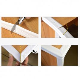 Лента защитная на острые углы TUSUNNY BPC-W013 (белый)