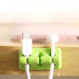 Органайзер для кабеля ExtraDigital Cable Clips CC-942 (зеленый)