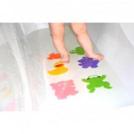"""Набор мини-ковриков для купания и игры ребенка в ванной TM """"KinderOK"""" MINI-1 (разные цвета) - 6 шт."""