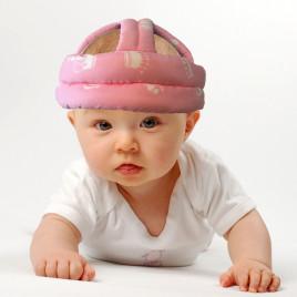 Защитный шлем Boilezi AO9 (розовый с коронами)