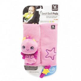 Детские накладки для ремня безопасности Розовая Фея BenBat BB250P (2 шт.)