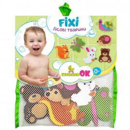 Набор игрушек на присосках для купания в ванной Лесные животные KinderenOK (040313)