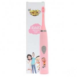 Детская электрическая зубная щетка Ultradent E602-P (розовая)