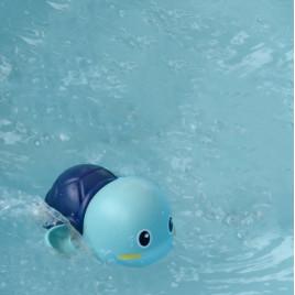 Заводная игрушка для ванной Черепашка Anbebe ST190-B (голубо-синий)