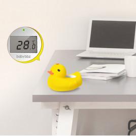 Игрушка-термометр в ванную Уточка BabyBBZ BBZ-825 (желтая)