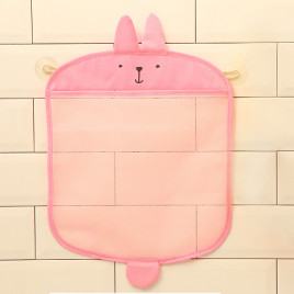 Органайзер для игрушек в ванной Baby Assistant MLM2154-1 (розовый)