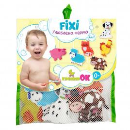 Игрушки на присосках для купания в ванной Ферма KinderenOK (061113)
