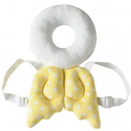 Защита при падении Ангельские крылья с нимбом Little Bean BO329 (желтые с белым)