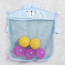 Органайзер для игрушек в ванной Baby Assistant MLM2154-2 (голубой)